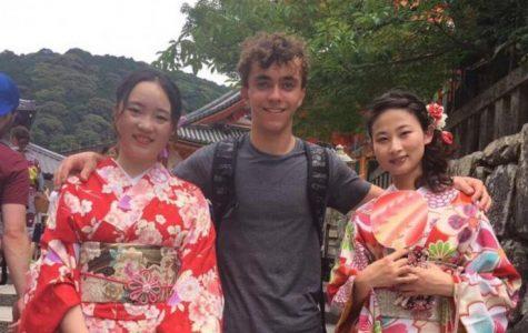 Dawson Durig visits Japan