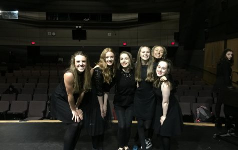 Wilsonville theatre students prepare for the thespians NE regional competition.