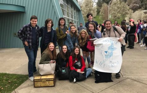 Drama students attend NWOC one act competition