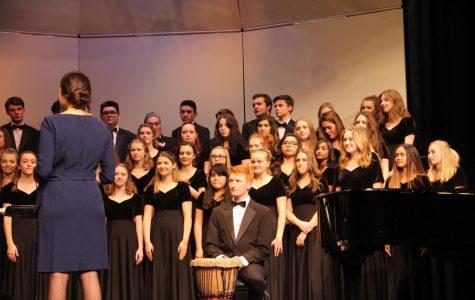 Choirs greet the spring