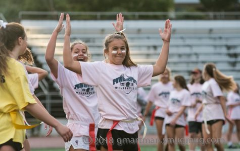 Sophomores capture the Powder Puff championship for the second year in a row