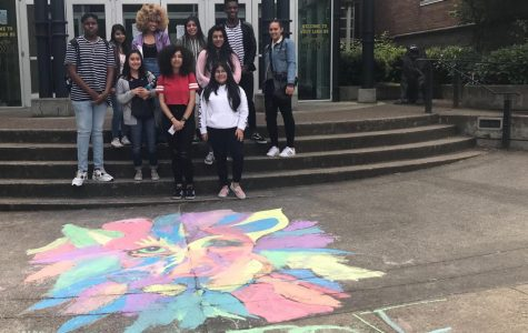 MECHA and BSU attend  West Linn's Unity day