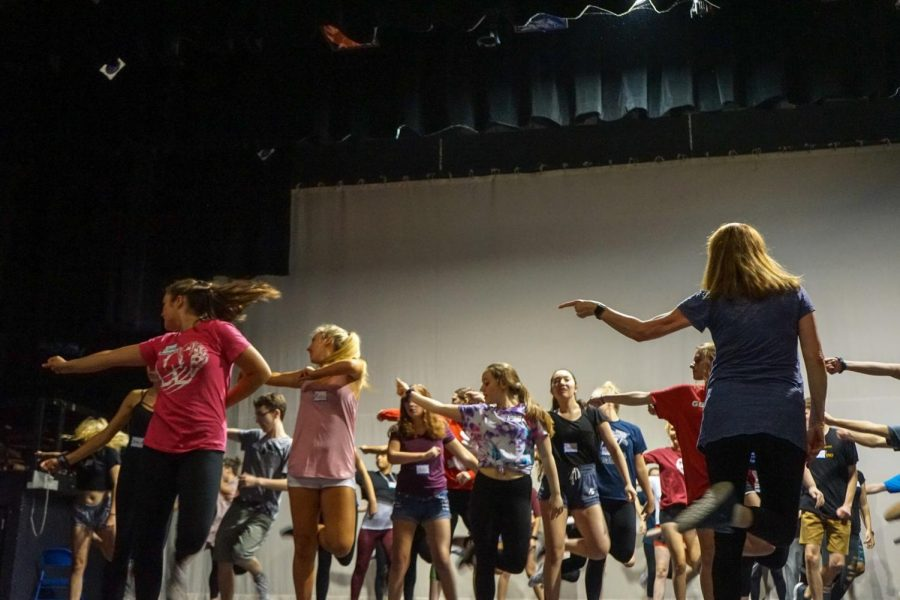 Legally Blonde auditions come to a close