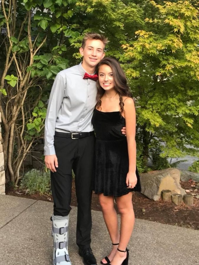 Last+year+Bella+Kleiner+went+with+Ryan+Berry+to+homecoming.+She%27s+elated+to+be+going+to+another+homecoming+this+year%2C+and+looks+forward+to+having+fun.