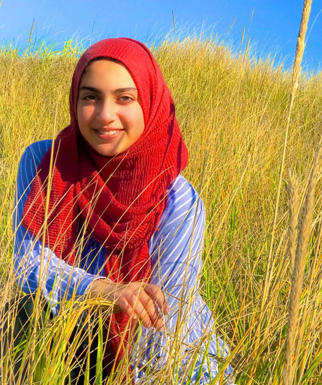 Rodayna Abdelhalim, student at Wilsonville High School. She is a junior this year taking 6 AP classes.