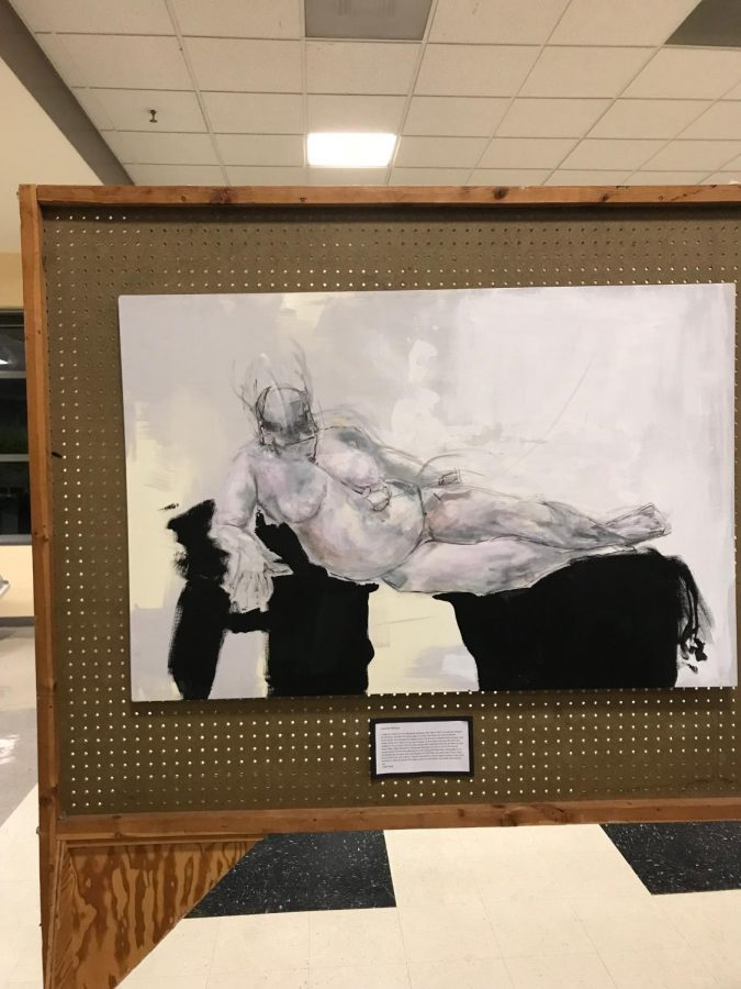 Students create art remembering loved ones