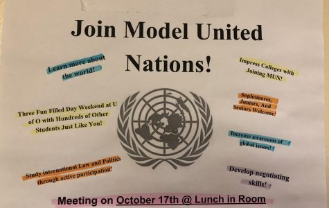 Model UN Club welcomes new members