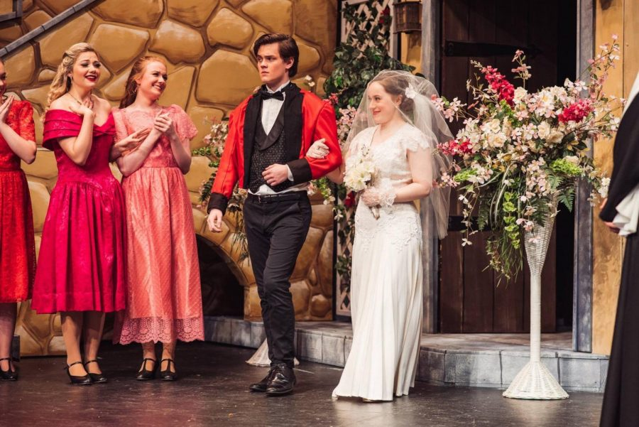 Wilsonville theatre department opens Much Ado About Nothing