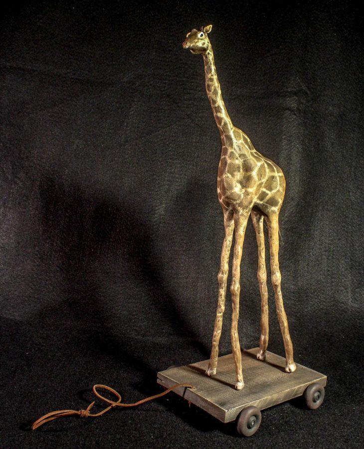 %22Giraffe+Toy%22%0AJunior+Cole+Eagles%27+gold+key+sculpture+of+a+Giraffe.+