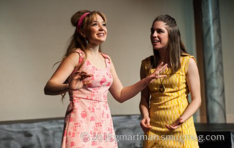 Hayden Wilde stars as Celia and Lauren Burns stars as Rosalind in the fall production of As You Like it.