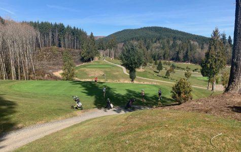 Golf in full swing