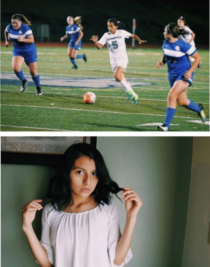 Araxi+Tejeda-Martinez%2C+student+at+Wilsonville+High+School.+She+will+be+balancing+soccer+and+AP+classes+this+year.
