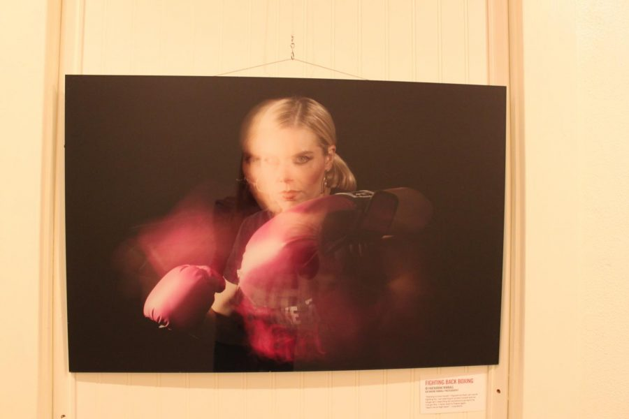 %22Fighting+back+boxing%22.+A+photo+of+Lisa+Burns+fiercely+posing+with+boxing+gloves.+