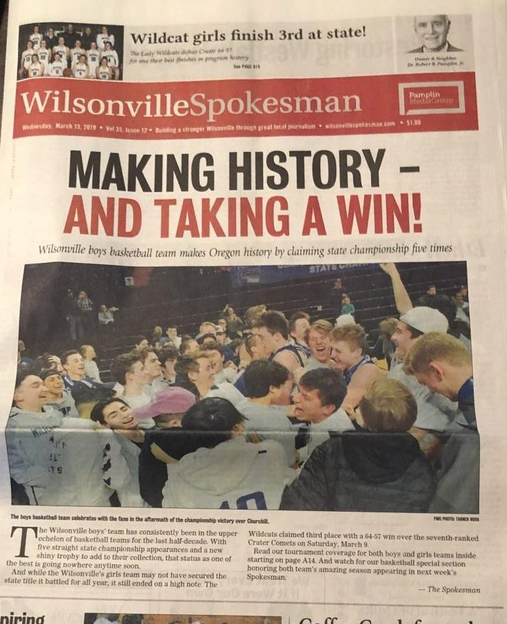 Is there an inequity inside the coverage of the Wilsonville Spokesman? What should they do to offset this?