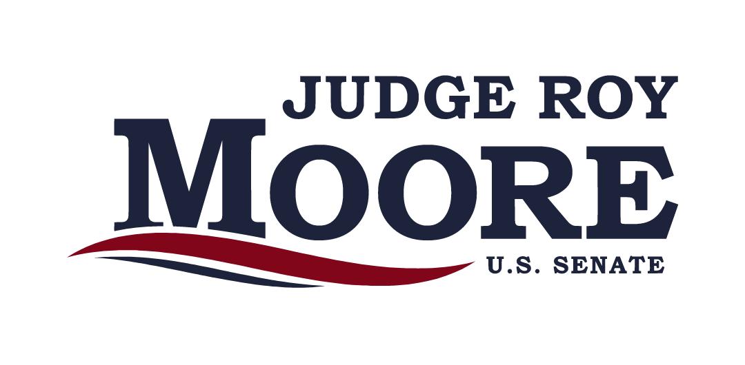 Judge Roy Moore's campaign logo