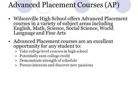 Wilsonville students have lots of opportunities to take AP classes