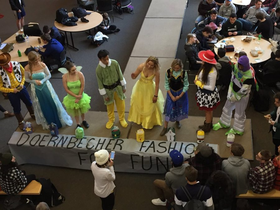 Students dress as their favorite Disney characters to raise money for Doernbecher