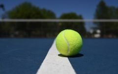 Trying out for tennis