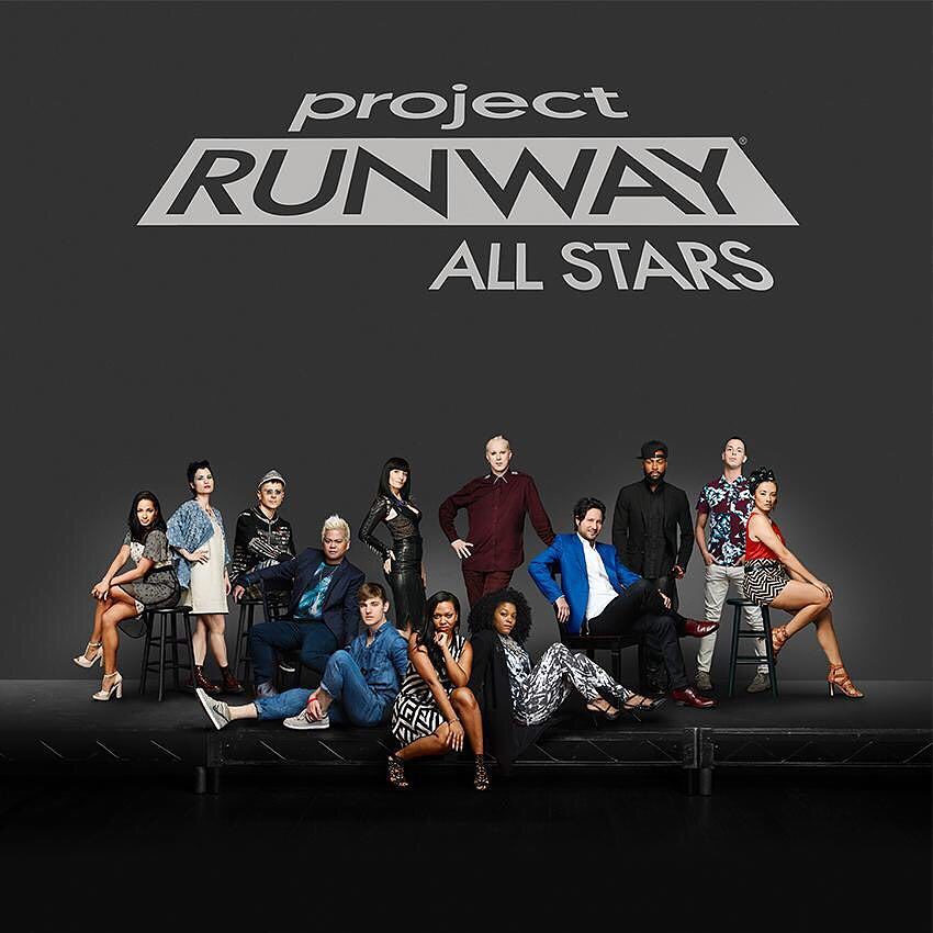 A+photo+promoting+the+spin-off++hit+%22Project+Runway+All+Stars%22.