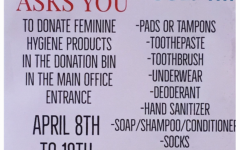 Last chance to donate to Female Empowerment club's feminine hygiene drive