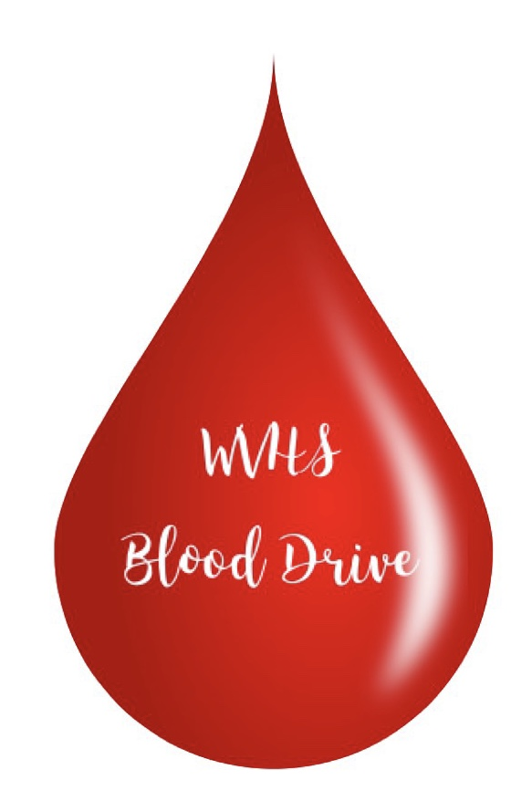 Poster+that+promotes+the+Blood+Drive+at+Wilsonville+High+School.+Blood+donations+go+to+the+Red+Cross.