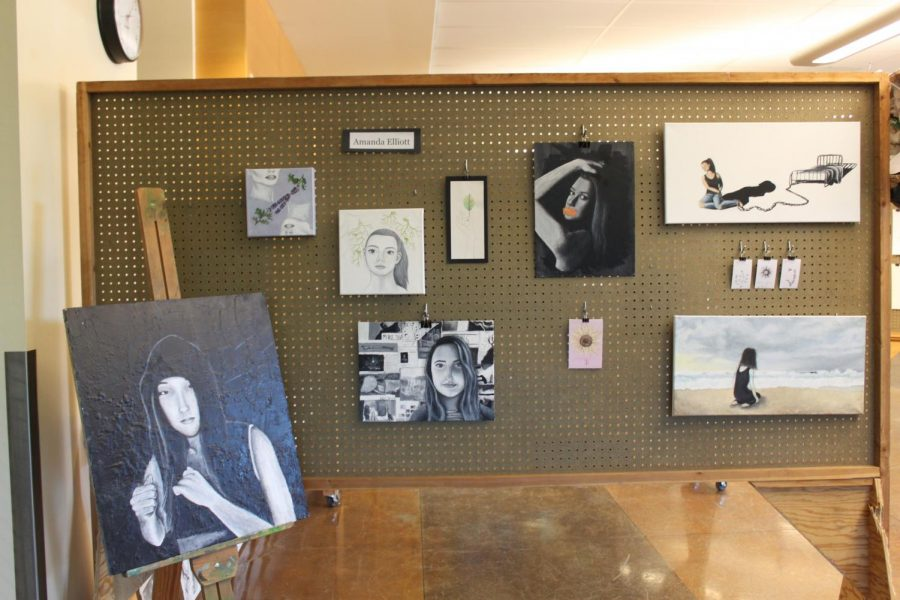 WHS Art Show reception gallery