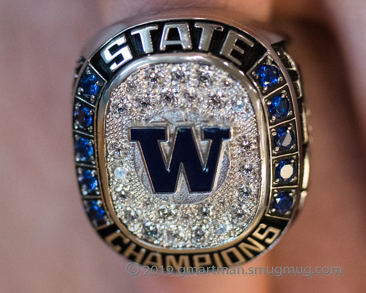 Shown+is+the+ring+for+winning+the+5A+title