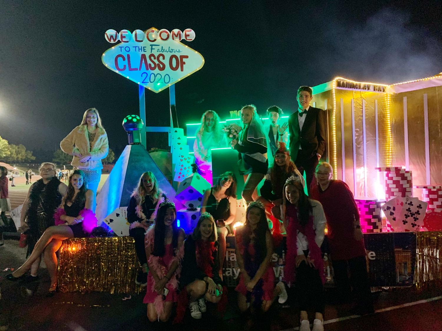 Class of 2020 captures coveted Homecoming float victory