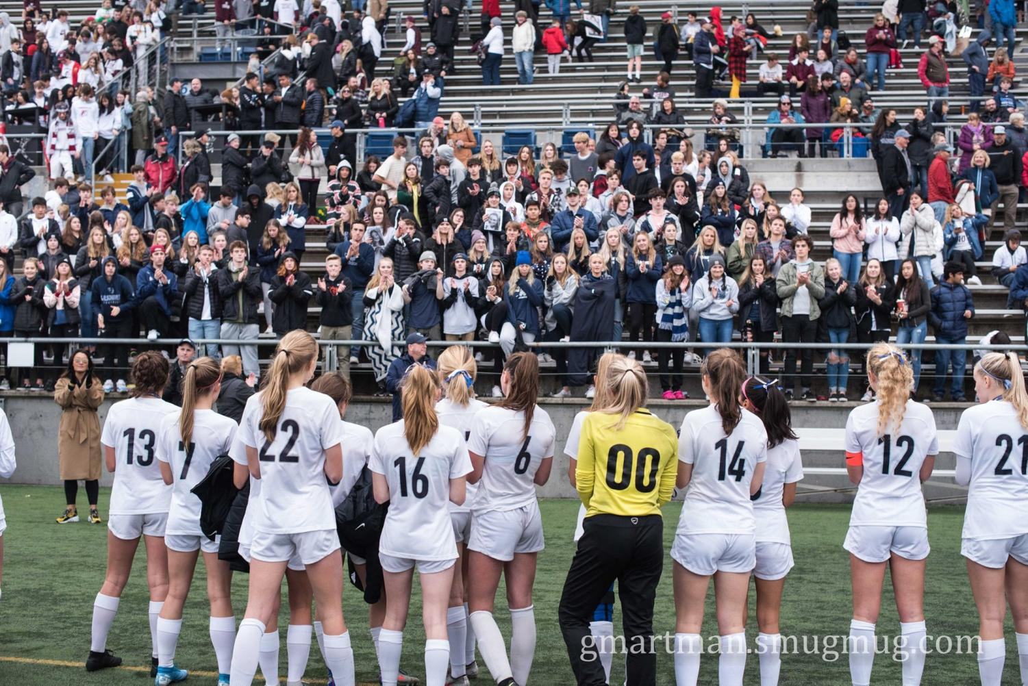 The Wildcats, a team with ten seniors, thanked their fans for the support during their best season to date.