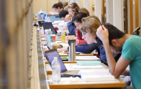 First semester finals need to remain before Winter Break