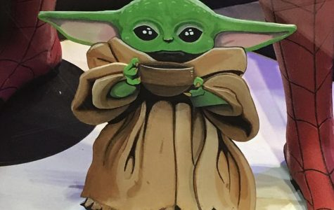 Pictured above is Baby Yoda. Baby Yoda will return in 2020. Baby Yoda will look over all ov WVHS's students' resolutions.
