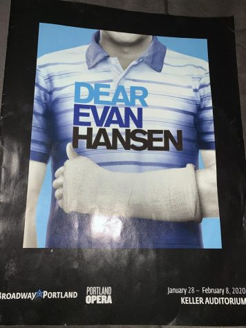 Dear Evan Hansen program!