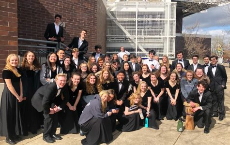 The Symphonic Choir at Oregon State University. State qualifiers was held at OSU on March 3rd.