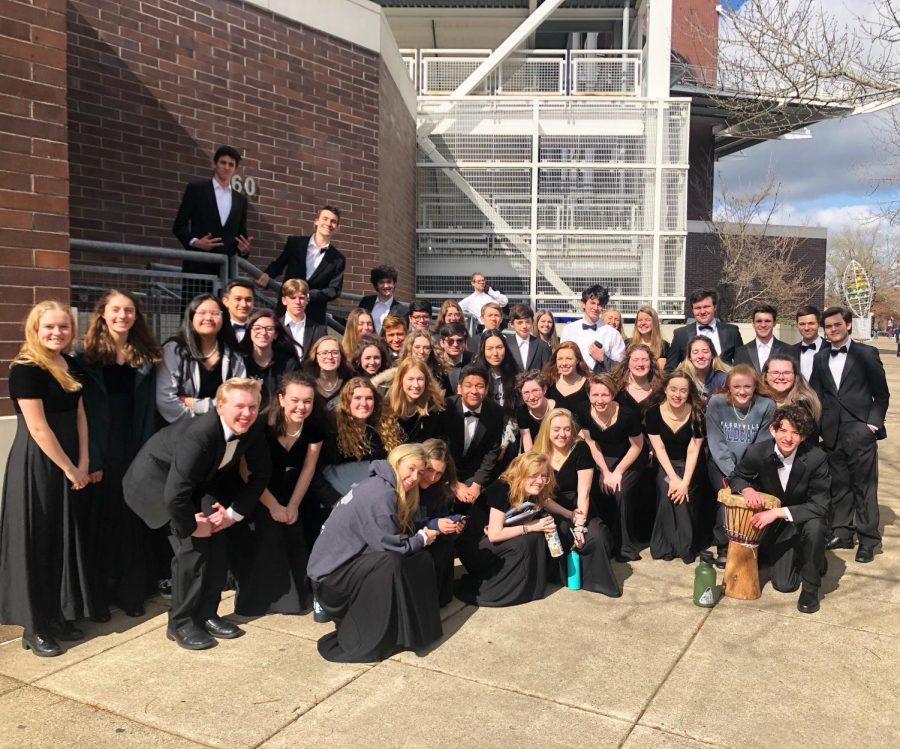 The+Symphonic+Choir+at+Oregon+State+University.+State+qualifiers+was+held+at+OSU+on+March+3rd.