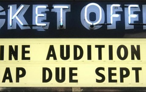The Trap auditions begin on September 12. This is one of hopefully three shows the theater department will put on this year.