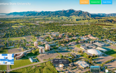 Montana State University's version of a virtual campus tour. Campuses around the nation have created some sort of virtual tour for prospective students.