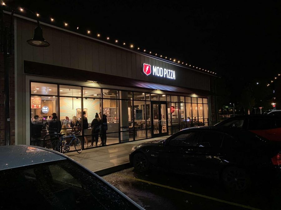 The Wilsonville location of Mod Pizza.