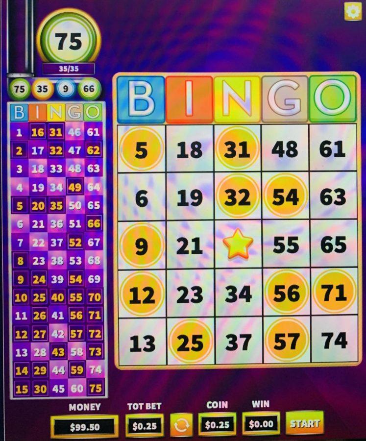 Game of online bingo!
