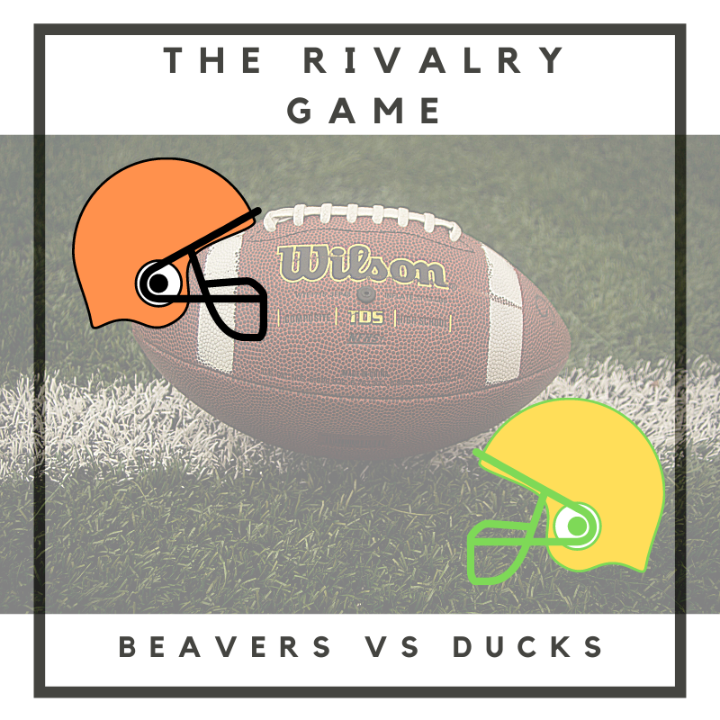 Oregon State wins this years rivalry game, 41-38. The rivalry between Oregon State and Oregon has gone on since 1984.