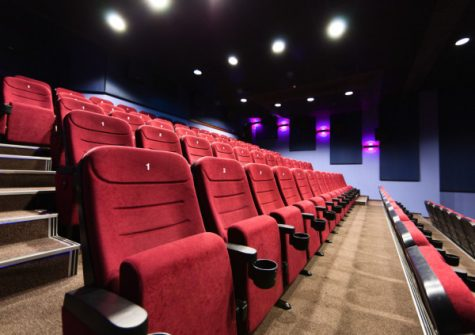 Movie theatres stay empty as the pandemic rages on.