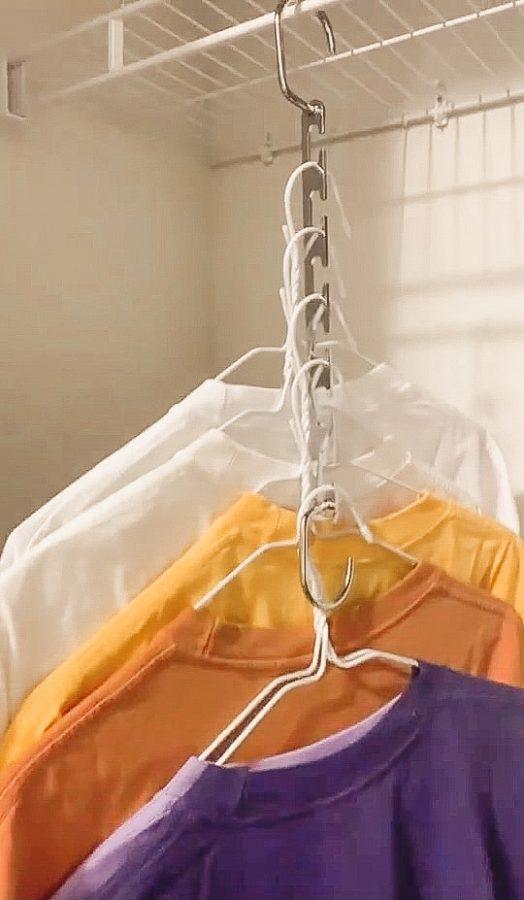 Magic Space saving hangers