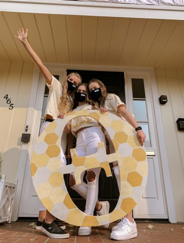 Lindsey Hartford on bid day. Hartford shares her experience joining her sorority at Oregon State University.