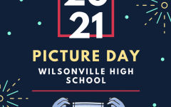 Picture day 2021. Wilsonville High School students finally had a chance to come to school for the first time this year.