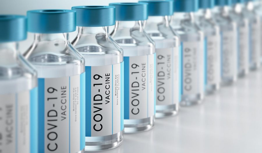 A picture of a Covid-19 vaccine. Currently, the Pfizer and Moderna vaccines are being distributed to Oregonians.