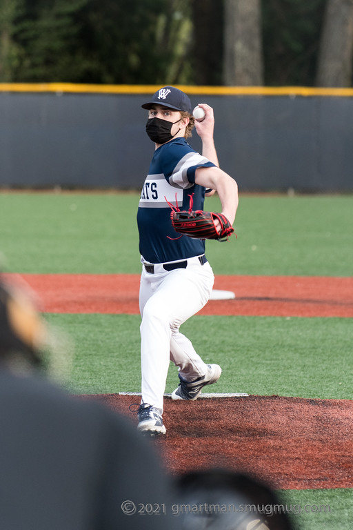 Jack Kimball throws a shutout against St. Helens.