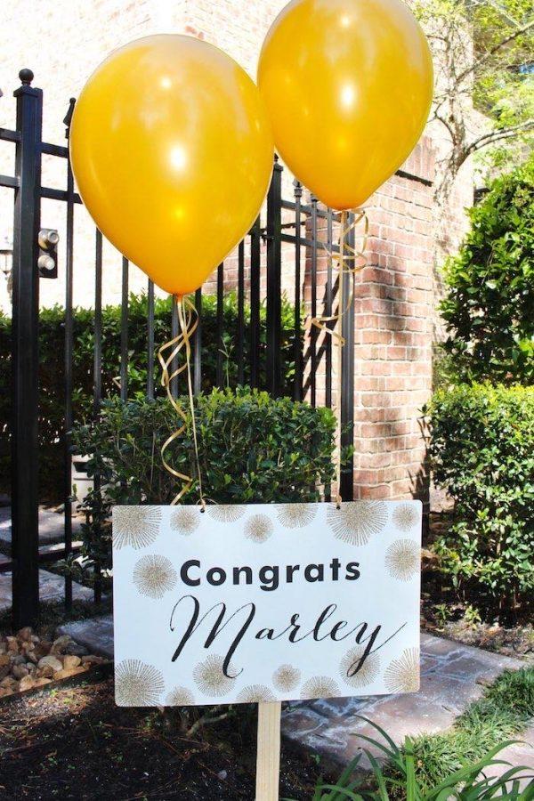 Grad Party Entrance Signs