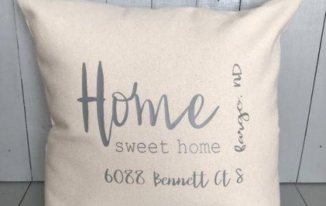 Address Throw Pillow
