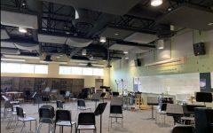 The empty band room illustrates the cliche,