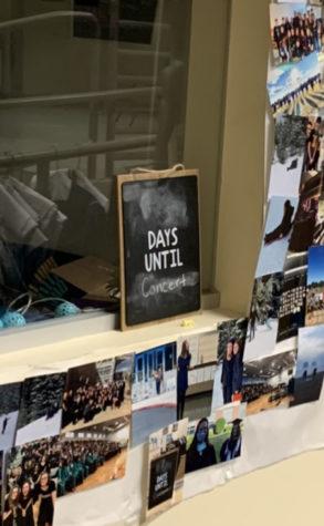The chalkboard in Ms. K