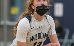 Sydney Burns shoots free throws as she added to the Wildcat lead against Lincoln. Wilsonville went on to win 72-29 as Burns led the game in scoring with 25.